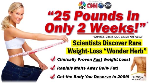 13 kg weight loss in 1 week